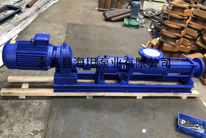 齿轮减速机G型螺杆泵