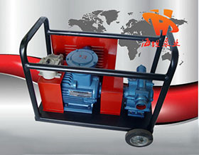移动式自吸滑板泵KYB型