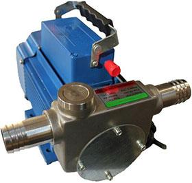 不锈钢两相防爆电动油泵DYB-80型
