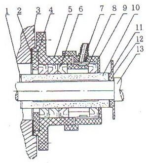 泵的油封的结构图