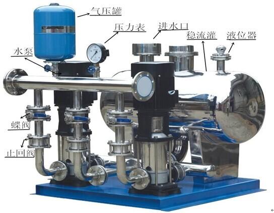 无负压给水设备介绍   无负压给水设备根据工程设计用水特点,结合实际情况,考虑到设备的性能,我公司技术人员本着工艺先进、配备齐全、功能完善、性能优良、安全可靠、技术先进及节能、节资、卫生、环保、占地面积小等原则,结合我公司的产品技术和工程公司要求为您设计最好的无负压给水设备。  无负压给水设备先进技术介绍;  由于以往自来水水压最高达到七层楼,因此高层建筑供水需通过二次加压来现实供水需求,永嘉县海坦泵业泵业专业生产;设备安装及销售自来水二次增压供水设备。   无负压给水设备由气压罐、水泵及电控系统三部